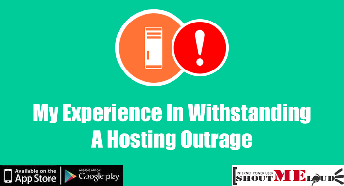 My Experience In Withstanding A Hosting Outrage: NameCheap Hosting
