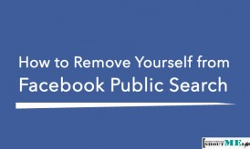 How to Remove Yourself from Facebook Public Search