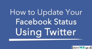 How to Update Your Facebook Status Using Twitter