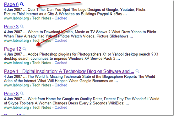 Useless-indexed-pages-Google