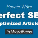 How to Write Perfect SEO Optimized Articles in WordPress