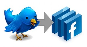 how to update your facebook status with twitter 300x163 How to Update Your Facebook Status Using Twitter