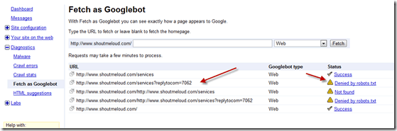 robots.txtdenied thumb How to Fix ReplytoCom Links Issue in WordPress [Updated]