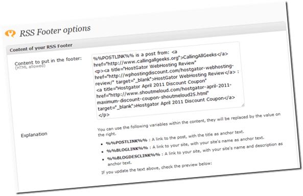 rss-footer-WordPress-plugin