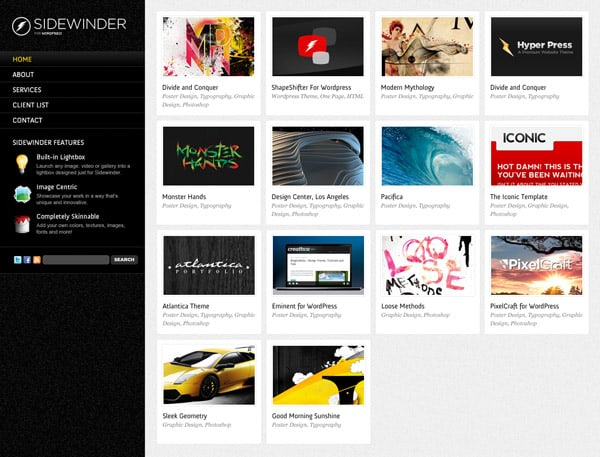 SideWinder for WordPress