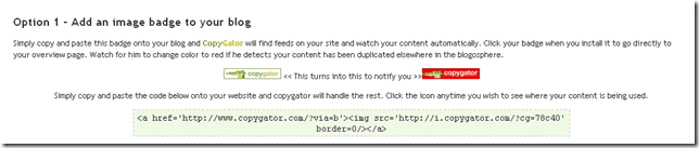 copygatorbadge thumb Easy Way to Find Out About Copied Content with Copygator