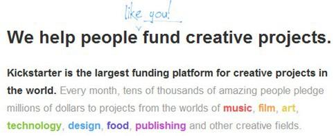 Create Kickstarter project