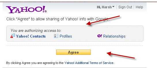 authorize access Yahoo Google+ How to Invite all Your Facebook Contacts to Google+