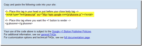How to Add Google Like Button into Thesis Theme