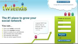 Twiends : Twitter Follower Exchange Program to grow Twitter Followers