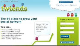 Twiends : Twitter Follower Exchange Program to grow Twitter Followers