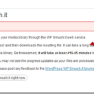 Smush.it Added Bulk WordPress Image Smushing Option