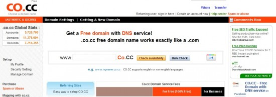 Google Blocked Co.CC Domains from Search Results