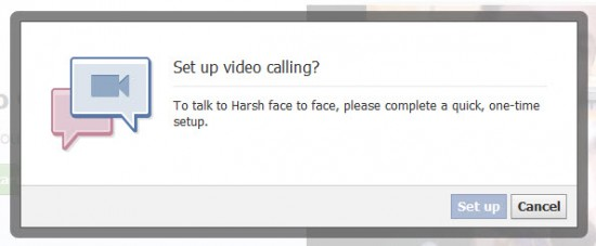 Facebook Video Calling 550x227 Simplest Guide To Learn Facebook Video Chat Setup