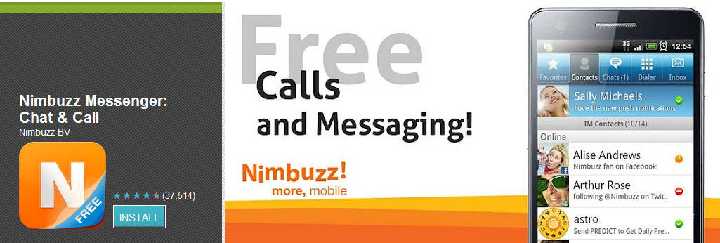 NimBuzz Top Free Android Apps For Mobiles & Tablet