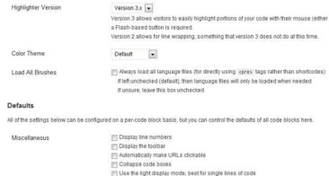Embed PHP, CSS Codes in WordPress with SyntaxHighlighter Evolved Plugin