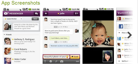 Yahoo Messenger Top Free Android Apps For Mobiles & Tablet