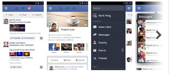 facebook app Top Free Android Apps For Mobiles & Tablet