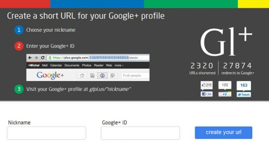 glpl.us 1 550x301 3 Websites to Create Custom Google Plus Vanity URL