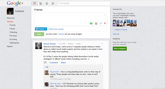 google theme thumb Customize Google Plus with Google+ Ultimate