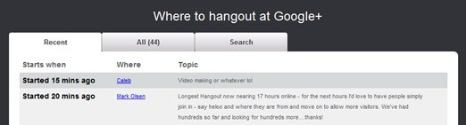 join Google plus public hangouts