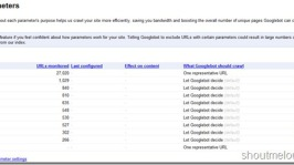 How to use URL Parameters in Google Webmaster Tool