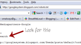 Robots.txt file on BlogSpot Blogs: Google SEO Mistake with BlogSpot Search Pages