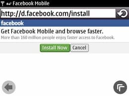 Facebook app download