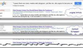 Help Google Spam Report Team by Reporting Scraper Sites