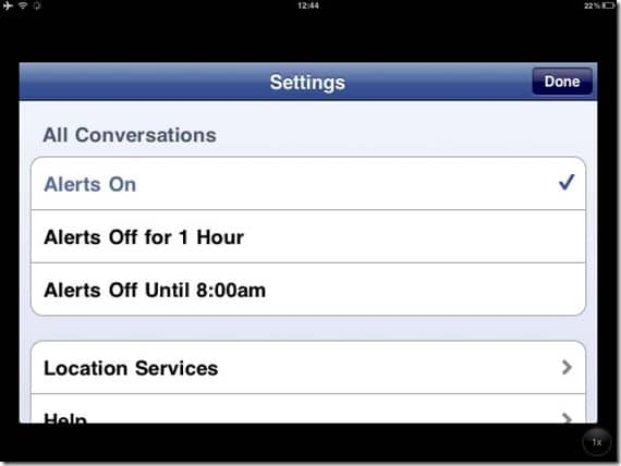 Facebookmessengersettings thumb Facebook Launched Facebook Messenger: Video Calling coming soon