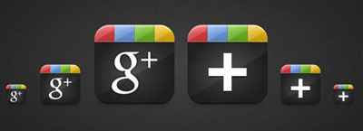 Collection Of Top 15 Free Google+ Icons Pack