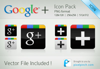 Google Plus Icon 6 Collection Of Top 15 Free Google+ Icons Pack