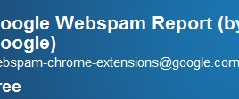 This Extension Report Spam Sites To Google From Chrome Browser