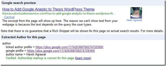GoogleAuthorShip thumb How to Integrate Google AuthorShip in Single Authored WordPress Blog [Easy Way]