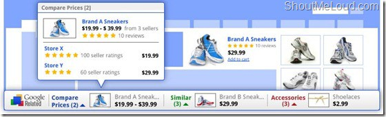 Googlereleasedshopping thumb Google Related Toolbar : Find More information about Topic you are Viewing