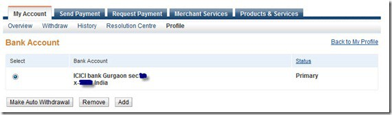 PaypalAutoWithdrawal thumb PayPal Added Auto Withdrawal to Bank Account For Indian Users [Updated]