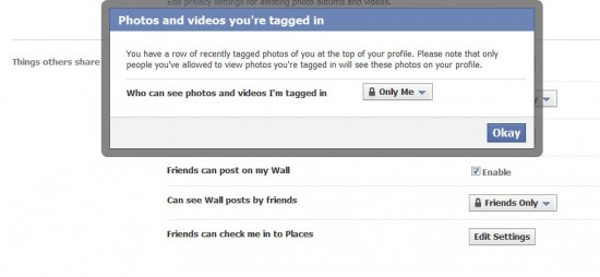 PhotosVideosTagged in 550x254 5 Facebook Privacy Settings You Should Know