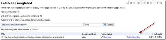 SubmitGoogleindex thumb Google Added URL Submission to Webmaster tool