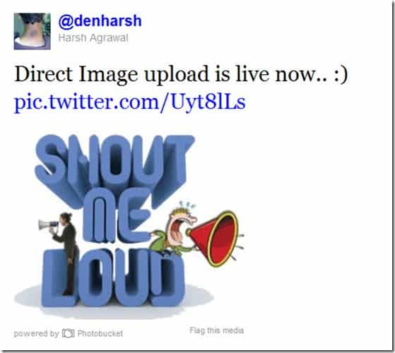 TweetedImage thumb Twitter Web added Direct Photo Upload Feature