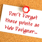 5 Things Web Designers Must Not Forget Before Launching A New Site