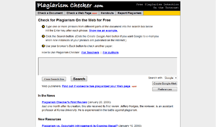 plagiarismchecker Top 10 Free Online Tools To Check For Content Theft: Anti Plagiarism