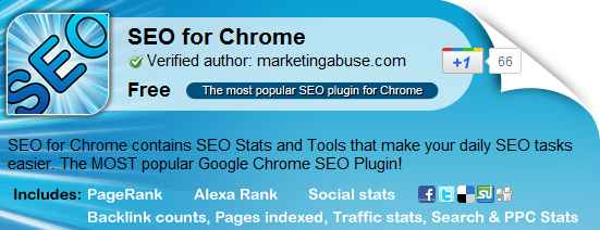 5 Google Chrome SEO Extension for Bloggers