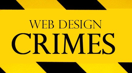 web design crime