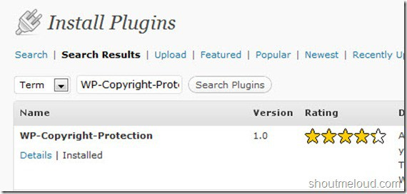 wpcopyrightprotection thumb How to Disable Right Click on WordPress?