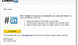 How To Update Twitter Status From Your LinkedIn Account