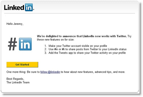 4109780694 6225c59c83 How To Update Twitter Status From Your LinkedIn Account