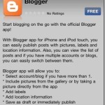 BlogSpot iPhone App Review : It Sucks!