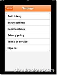 BlogSpot iPhone app screenshots (3)