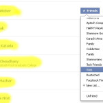 How to Customize and Use Facebook Friendlist