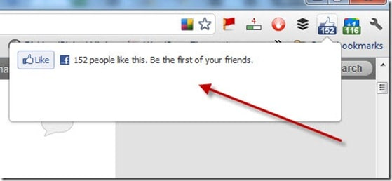 Facebook-Like-Chrome-Extension